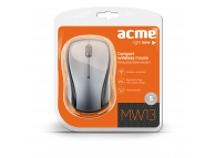 Mouse wireless Acme MW13 Compact gri negru Blister Original