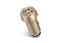 Adaptor auto Dual USB Forever PCC-04 3.1A Auriu Blister Original