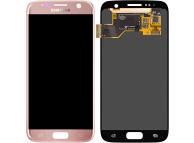 Display - Touchscreen Samsung Galaxy S7 G930, Roz Auriu GH97-18523E