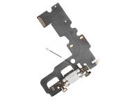 Banda cu conector incarcare / date si microfon Apple iPhone 7 Alb