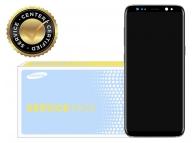 Display cu touchscreen si rama argintie Samsung Galaxy S8+ G955 GH97-20470B