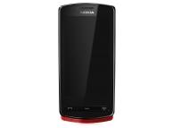 Display cu touchscreen si rama Nokia 700 rosu