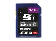 Card memorie Integral UltimaPRO SDHC 32GB Clasa 10 UHS-1 Blister