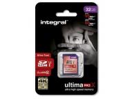 Card memorie Integral UltimaPROX SDHC 32GB Clasa 10 UHS-1 Blister