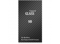 Folie Protectie ecran antisoc LG K10 (2017) M250 Tempered Glass Full Face 3D Alba Blueline Blister