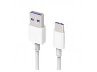 Cablu de date USB - USB Type-C Huawei HL1289 Alb Original