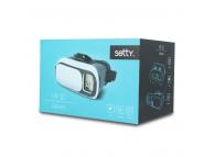Ochelari realitate virtuala Setty 3D VR albi Blister