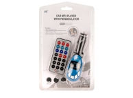 Emitator FM si MP3 Player Auto Space Albastru Blister