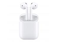 Handsfree Bluetooth Apple AirPods MMEF2ZM/A alb Blister Original