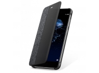 Husa piele Huawei P10 Lite Flip View 51991907 Gri Blister Originala