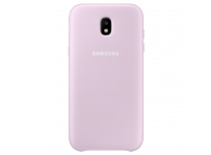Husa plastic Samsung Galaxy J5 (2017) J530 Dual Layer EF-PJ530CP Roz Blister Originala