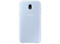 Husa plastic Samsung Galaxy J7 (2017) J730 Dual Layer EF-PJ730CL Albastra Blister Originala