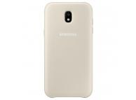 Husa plastic Samsung Galaxy J7 (2017) J730 Dual Layer EF-PJ730CF Aurie Blister Originala