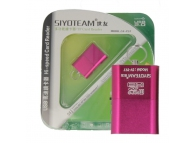 Cititor card MicroSD Siyoteam T97 Roz Blister Original