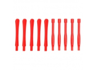 Set Clips plastic pentru desfacut carcase (10 Bucati) Rosu