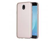 Husa plastic Samsung Galaxy J3 (2017) J320 Lenuo Slim Aurie Blister Originala