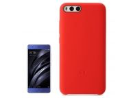 Husa silicon TPU Xiaomi Mi 6 Soft Rosie Blister Originala