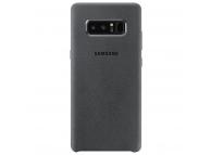 Husa Samsung Galaxy Note8 N950 Alcantara EF-XN950AJEGWW Gri Blister Originala