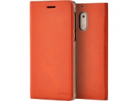 Husa piele Nokia 5 CP-302 Book Maro Blister Originala