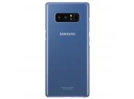 Husa plastic Samsung Galaxy Note8 N950 EF-QN950CNEGWW Clear Cover Bleumarin Blister Originala