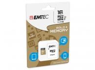 Card memorie Emtec MicroSDHC 16GB Clasa 10 UHS-1 Blister