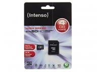 Card memorie Intenso MicroSDHC 4GB Clasa 10 Blister