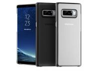 Husa plastic Samsung Galaxy Note8 N950 Anymode Soft Pure Argintie Blister Originala