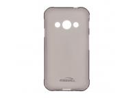 Husa silicon TPU Huawei P9 lite mini Kisswill Gri Transparenta Blister Originala