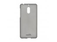 Husa silicon TPU Nokia 6 Kisswill Gri Transparenta Blister Originala