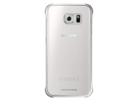 Husa plastic Samsung Galaxy S6 edge G925 Clear Cover EF-QG925BS argintie Originala