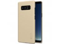 Husa plastic Samsung Galaxy Note8 N950 Nillkin Frosted aurie Blister Originala