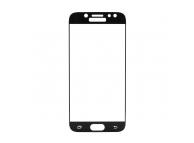 Folie Protectie ecran antisoc Samsung Galaxy J5 (2017) J530 Tempered Glass Full Face neagra Blister
