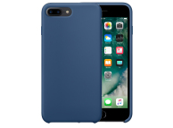 Husa Apple iPhone 7 Plus Pure Silicone Bleumarin Blister