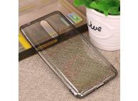 Husa silicon TPU Nokia 8 Mofi gri transparenta Blister Originala