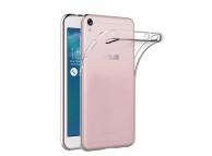 Husa silicon TPU Asus Zenfone Live ZB501KL slim transparenta