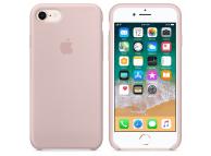 Husa silicon TPU Apple iPhone 8 MQGQ2ZM roz Blister Originala