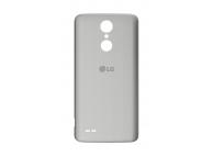 Capac baterie LG K8 (2017) M200 argintiu