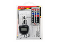 Emitator FM si MP3 Player Auto cu telecomanda AA-33 Blister