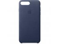 Husa piele Apple iPhone 8 Plus MQHL2ZM bleumarin Blister Originala