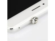 Protectie conector audio Jack 3.5 mm Diamond transparenta