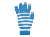 Manusi iarna Touchscreen Sensitive Marimea M bleu albe