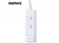 Prelungitor 2 prize  + 3 X USB Remax RU-S3 Alb Blister Original