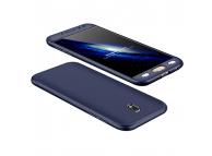 Husa plastic Samsung Galaxy J5 (2017) J530 Full Cover bleumarin