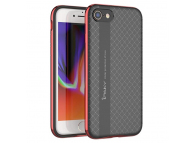 Husa Apple iPhone 7 iPaky Neo Hybrid neagra roz Blister Originala