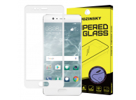 Folie Protectie ecran antisoc Huawei P10 WZK Tempered Glass Full Face alba Blister Originala