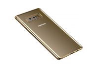 Husa silicon TPU Samsung Galaxy Note8 N950 Cafele Electro Aurie Blister Originala
