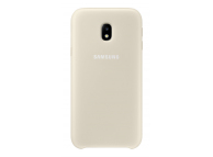 Husa plastic Samsung Galaxy J3 (2017) J330 Dual Layer EF-PJ330CFEGWW aurie Blister Originala