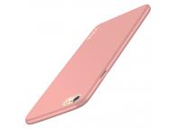 Husa plastic Apple iPhone 6 Vonuo Frosted roz Blister Originala