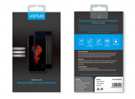Folie Protectie ecran antisoc Apple iPhone 6 Plus Vonuo Tempered Glass Full Face 3D neagra Blister Originala