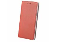 Husa Piele Nokia 6 Case Smart Magnet rosie